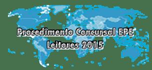 Procedimento Concursal EPE - Leitor